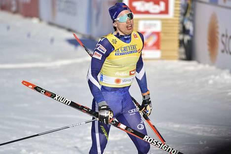 Iivo Niskanen ja Perttu Hyvärinen voittivat parisprintin.