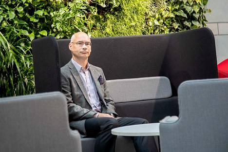 Toimitusjohtaja Mikko Hörkkö on mieltynyt Porin helppouteen. – Täällä voi käydä ruokatunnilla vaikka hammaslääkärissä.