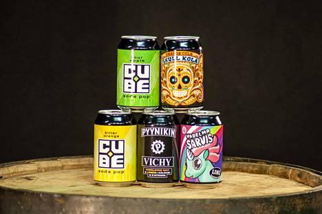 Pyynikin Brewing Companyn tuotevalikoima on oluen lisäksi kasvanut kuluttajia kiinnostavilla muilla juomauutuuksia.