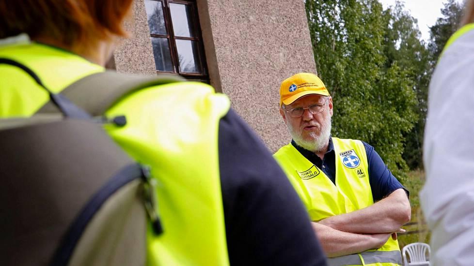 Jouko Lehtisalo oli mukana elokuussa 2011, kun Tampereella etsittiin kadonnutta 15-vuotiasta tyttöä. Lehtisalo soisi, että viranomaiset käyttäisivät vapaaehtoisia apuna enemmänkin, sillä kokemuksen myötä osaaminen karttuu.