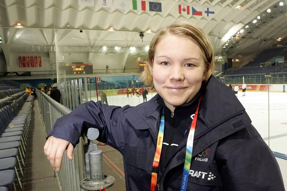Äitien asema urheilussa on Emma Terholle sydämenasia.