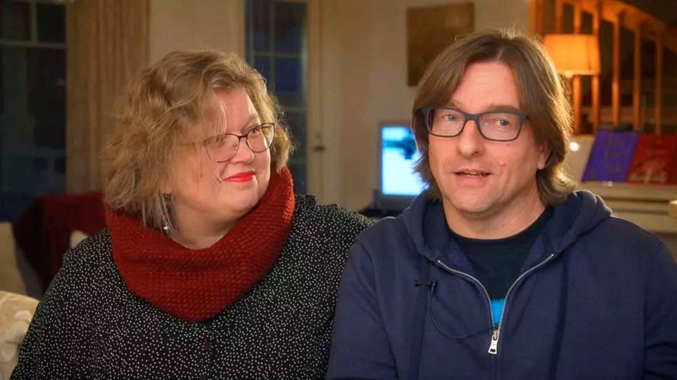Tiina ja Sami Huohvanainen muuttivat Jämsään Jyväskylästä, kun perheen lapset olivat pieniä.