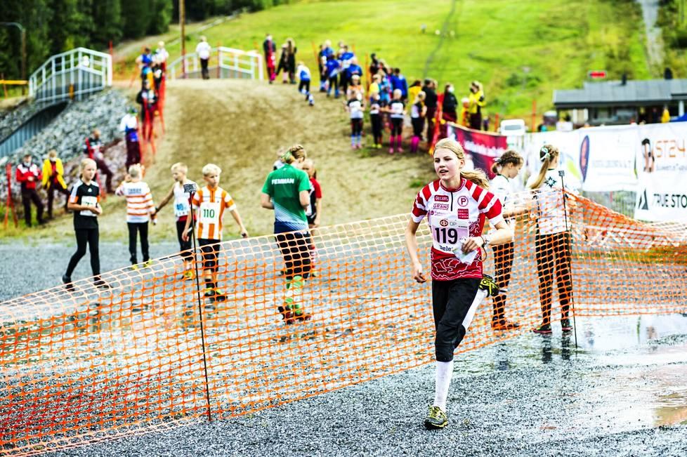 Nuorten Jukola -suunnistuskilpailu järjestettiin 14. elokuuta Valkeakosken Korkeakankaalla.