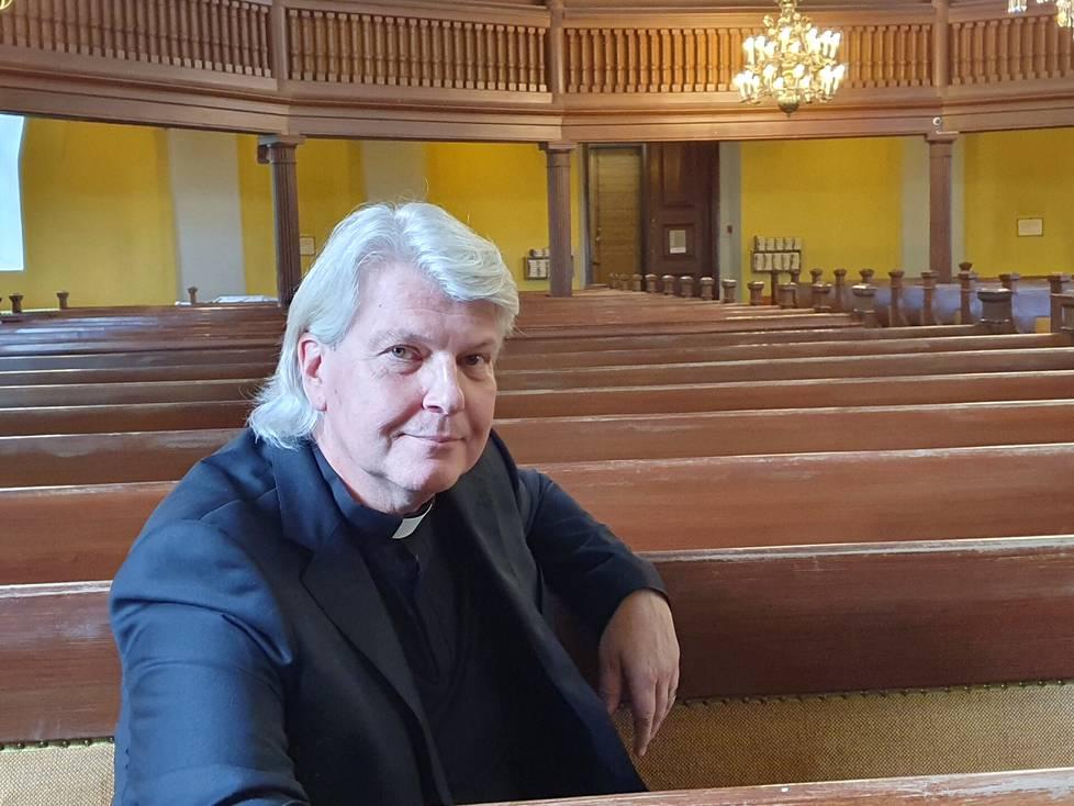 Juha Partanen on ollut Nokialla pappina kaksi vuotta. Kappalaisen virassa hän aloitti syyskuun alussa.