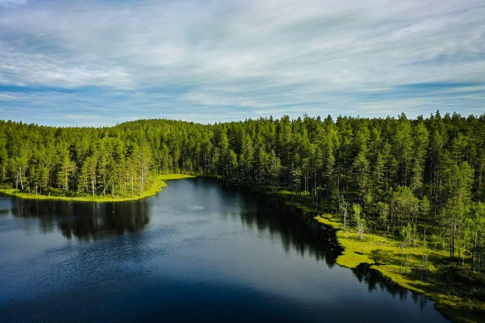 Torstai 17. kesäkuuta valkeni lämpimänä Vahterjärellä Isojärven kansallispuistossa. Toimittaja Sari Sainio ja kuvaaja Enna Rautiainen vierailivat Isojärvellä ensimmäistä, mutta tuskin viimeistä kertaa.