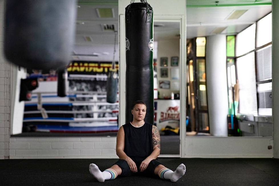 Elina Gustafsson kärsi urheilu-uransa aikana masennuksesta.
