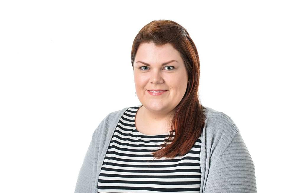 Marjaana Vilponen, myyntijohtaja, paikallismediat.