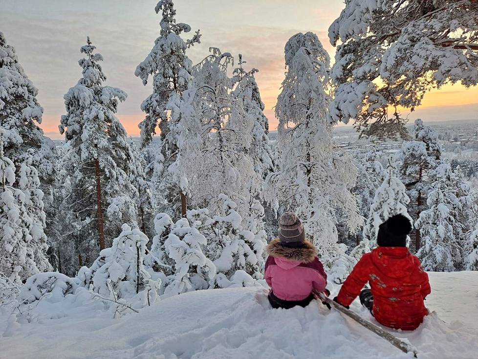 Pukinvuorella. Kuva: Petra Niskavaara.