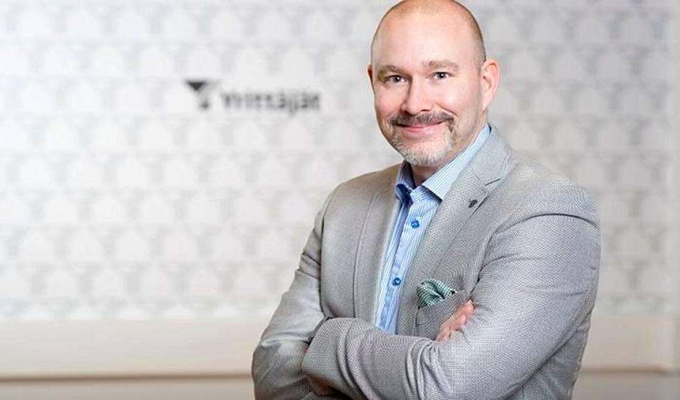 Suomen Yrittäjien työmarkkinajohtaja Janne Makkula.