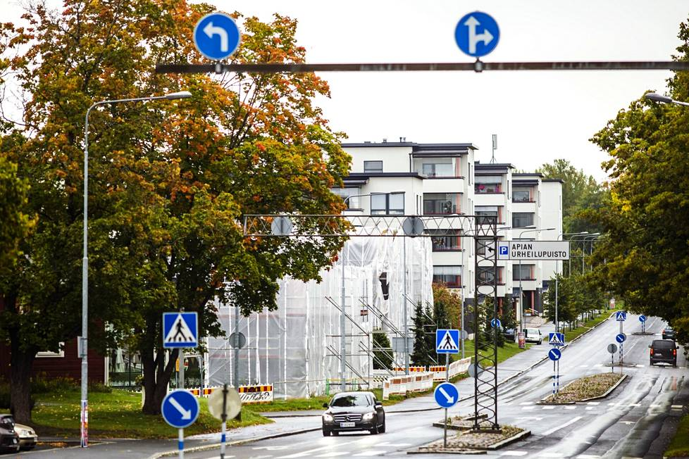 Valkeakosken keskusta-alueelle esimerkiksi Apiankadulle on viime vuosina valmistunut uusia kerrostaloja.