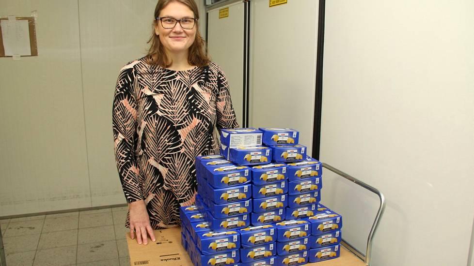 Mira Metsälä pudotti 90 puolen kilon voipaketin verran painoa vuodessa.