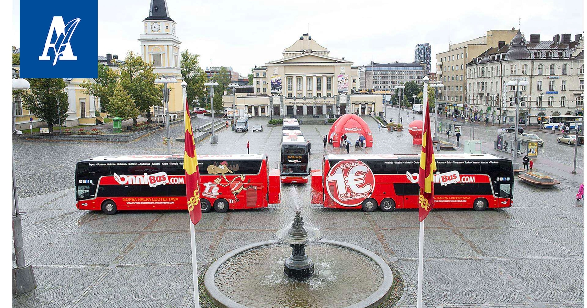 Onnibus Tampere Jyväskylä