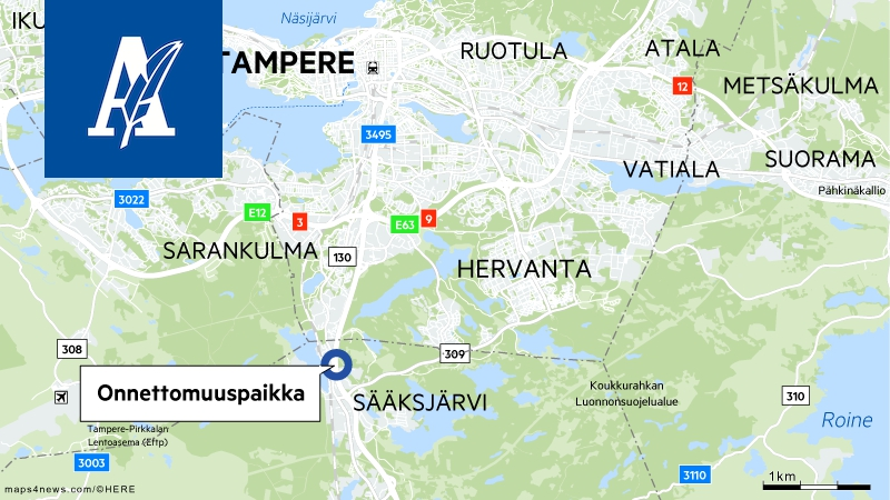 Ajokeli Tampere