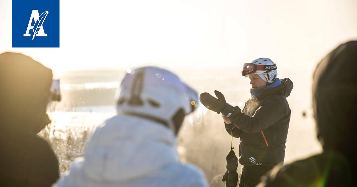 Mustastavuoresta: alppihiihdon ohjaajakurssi alkoi lähes 20 asteen pakkasessa...