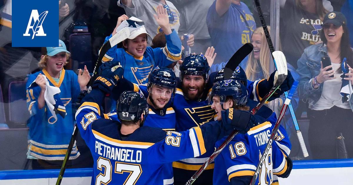 St. Louis Blues Pelaajat